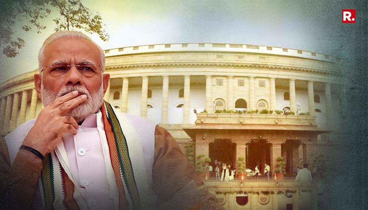 PARLIAMENT'S WINTER SESSION BEGINS WITH PM MODI'S SPEECH