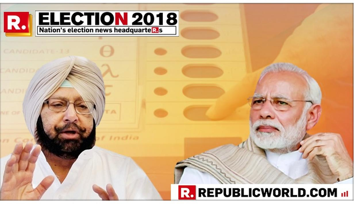 IT'S BEGINNING OF END OF MODI GOVERNMENT: AMARINDER SINGH