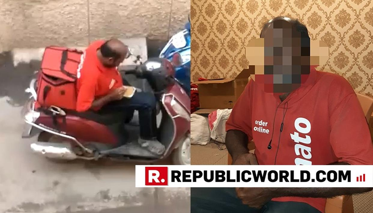 WAVE OF SYMPATHY FOR ZOMATO DELIVERY MAN WHO GOT SACKED AFTER EATING CUSTOMER'S FOOD