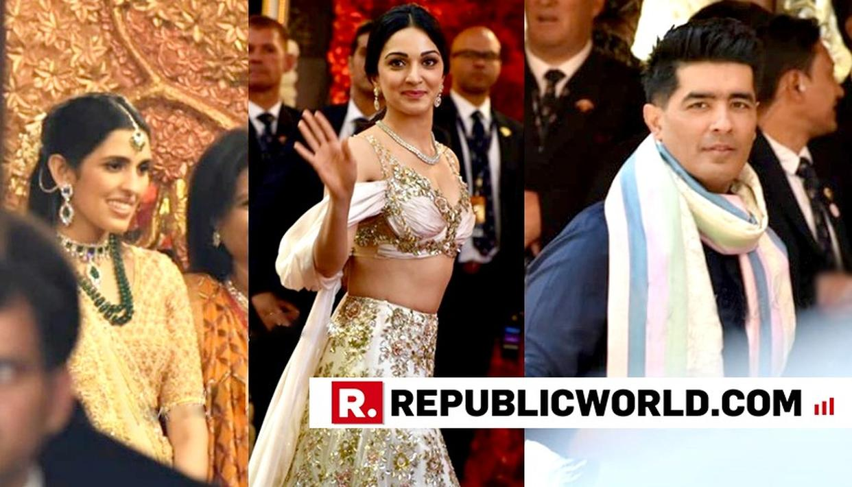 MANISH MALHOTRA, KIARA ADVANI AMONG OTHERS START ARRIVING AT ISHA AMBANI'S WEDDING CEREMONY