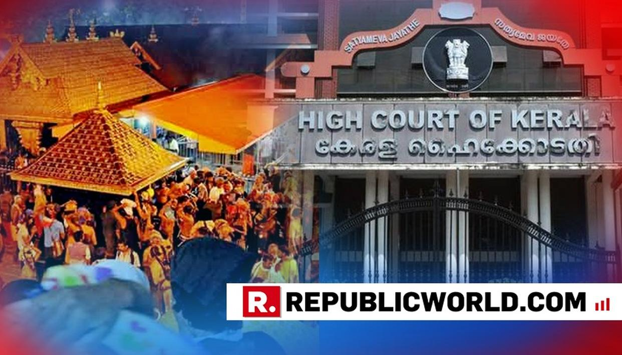 REMOVE RESTRICTIONS, BARRICADES AT PRIME SPOTS AT SABARIMALA: KERALA HIGH COURT TO POLICE