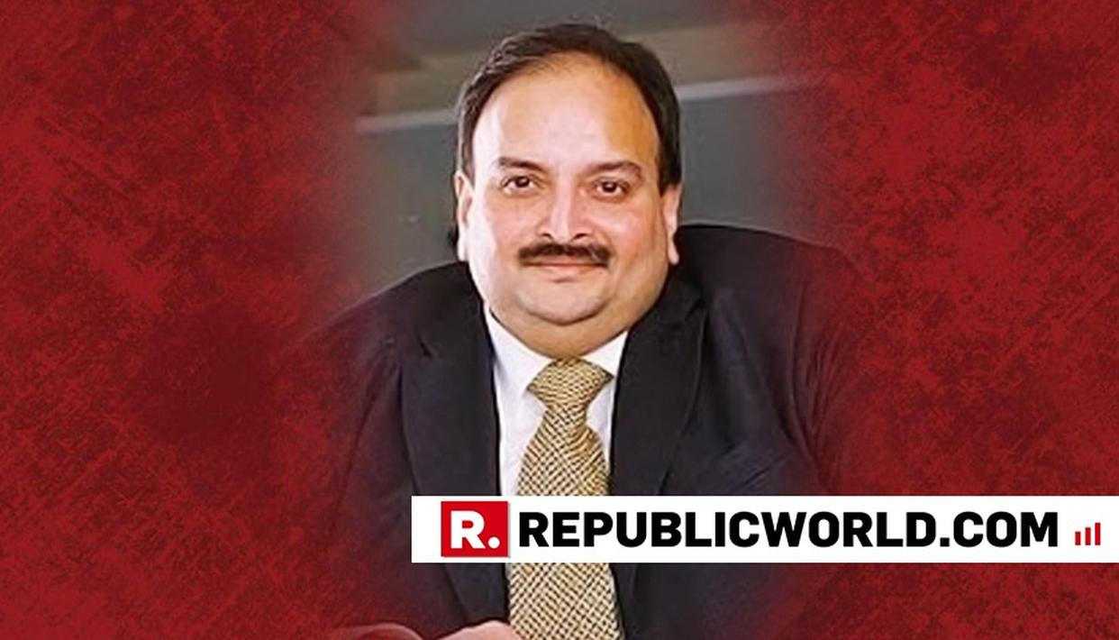 ON CBI'S REQUEST, RED CORNER NOTICE ISSUED AGAINST MEHUL CHOKSI BY INTERPOL