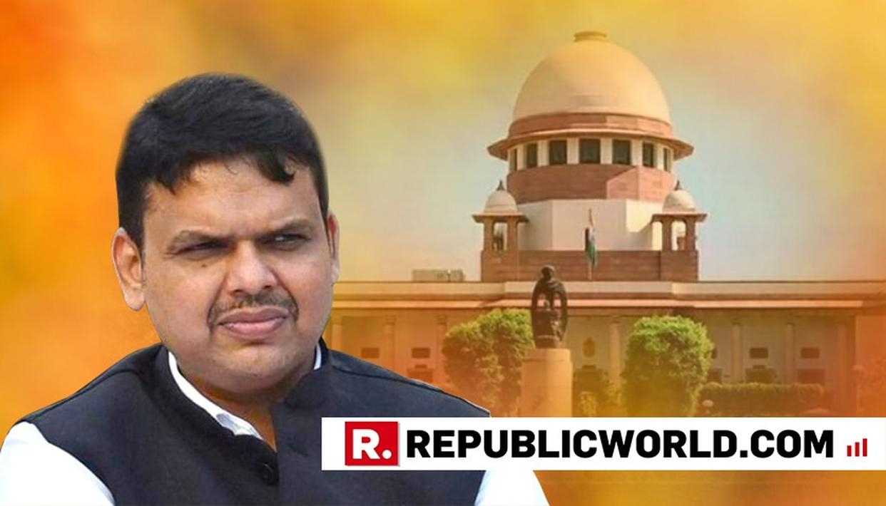 FADNAVIS TO FILE REPLY TO SC NOTICE ON PLEA AGAINST HIS ELECTION