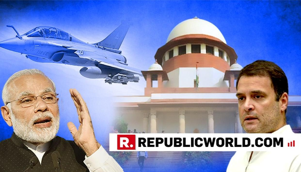 TITANIC RAFALE WIN FOR MODI GOVT; OPPN'S PLEA DISMISSED