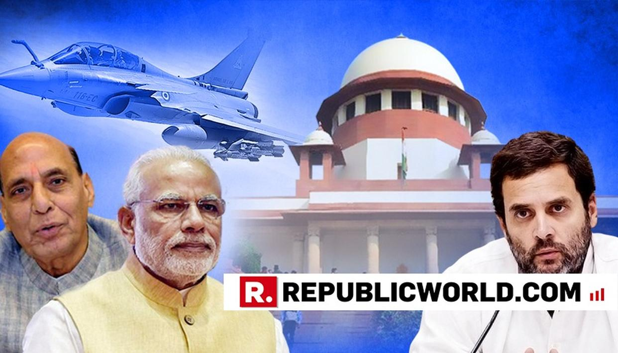 RAJNATH SINGH ON SC'S VERDICT ON RAFALE
