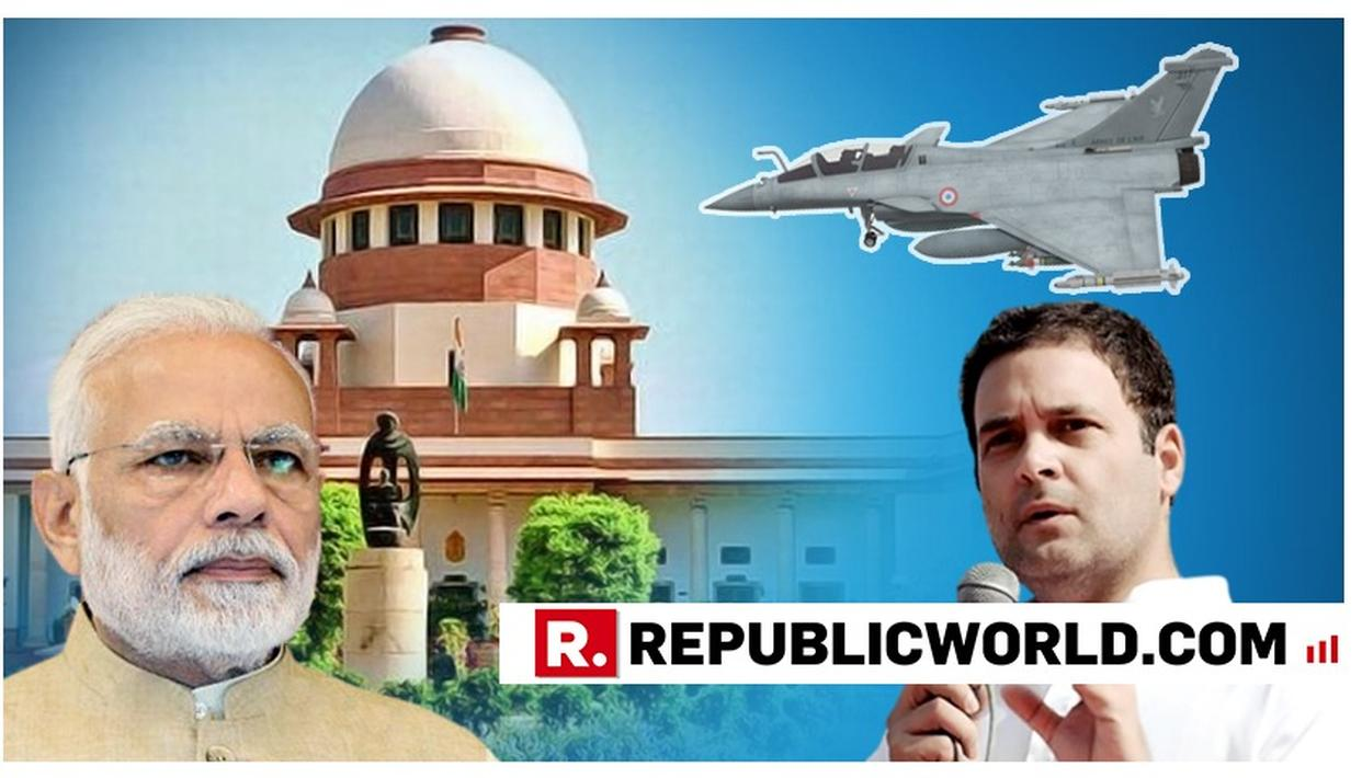MoD'S FIRST RESPONSE AFTER SC'S VERDICT ON RAFALE DEAL
