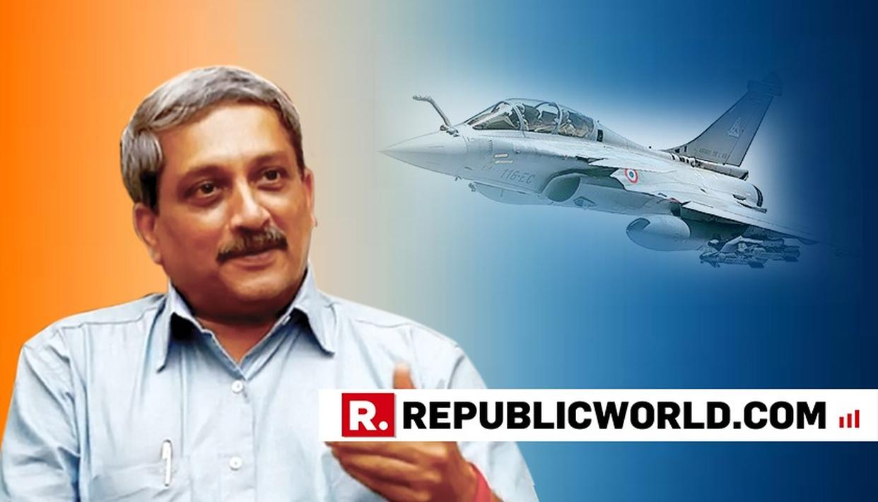 PARRIKAR'S 2-WORD RIPOSTE ON SC'S RAFALE VERDICT