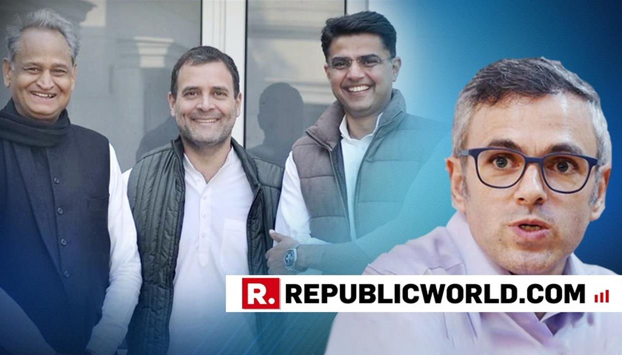 OMAR ABDULLAH HAS A SIMPLE QUESTION ON RAHUL GANDHI'S 'UNITED COLOURS OF RAJASTHAN' CLICK