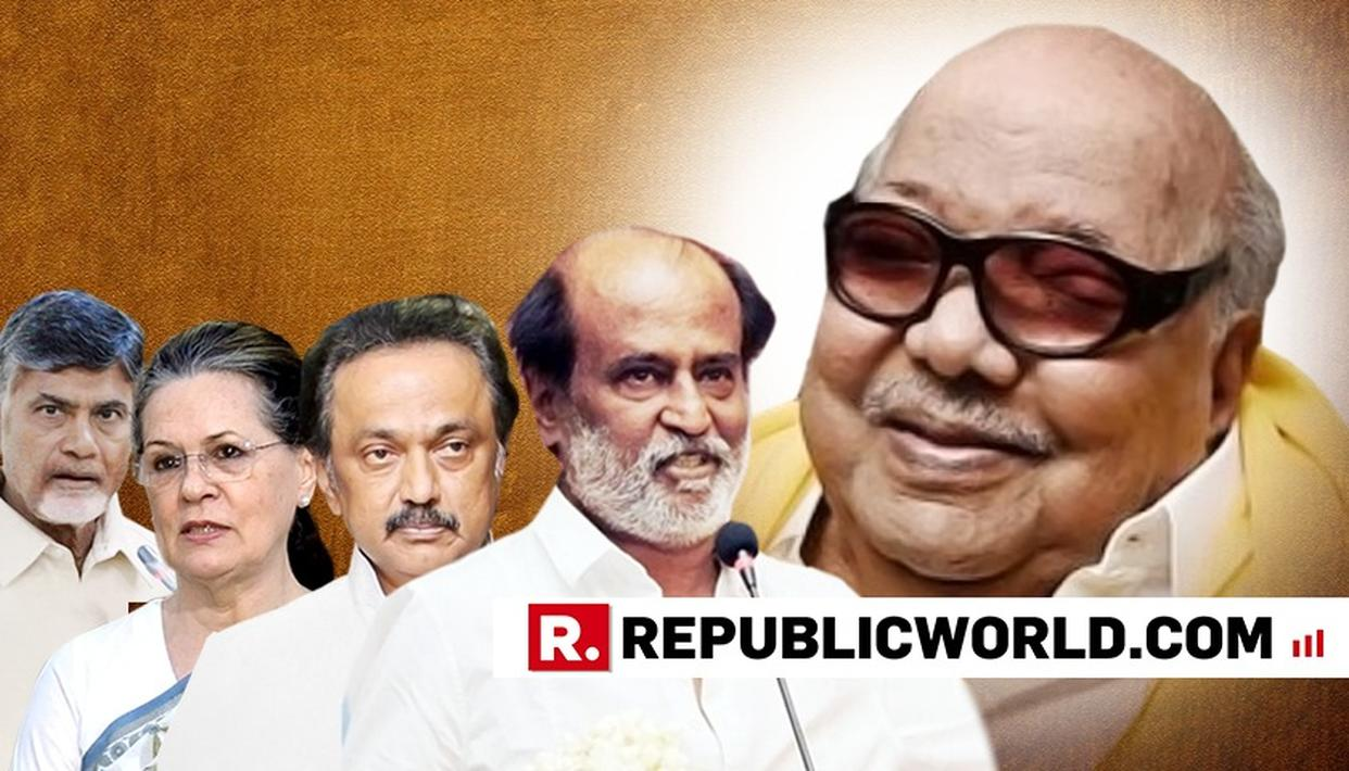 RAJINIKANTH TO ATTEND UNVEILING OF FORMER DMK PATRIARCH M KARUNANIDHI'S STATUE IN CHENNAI: SOURCES