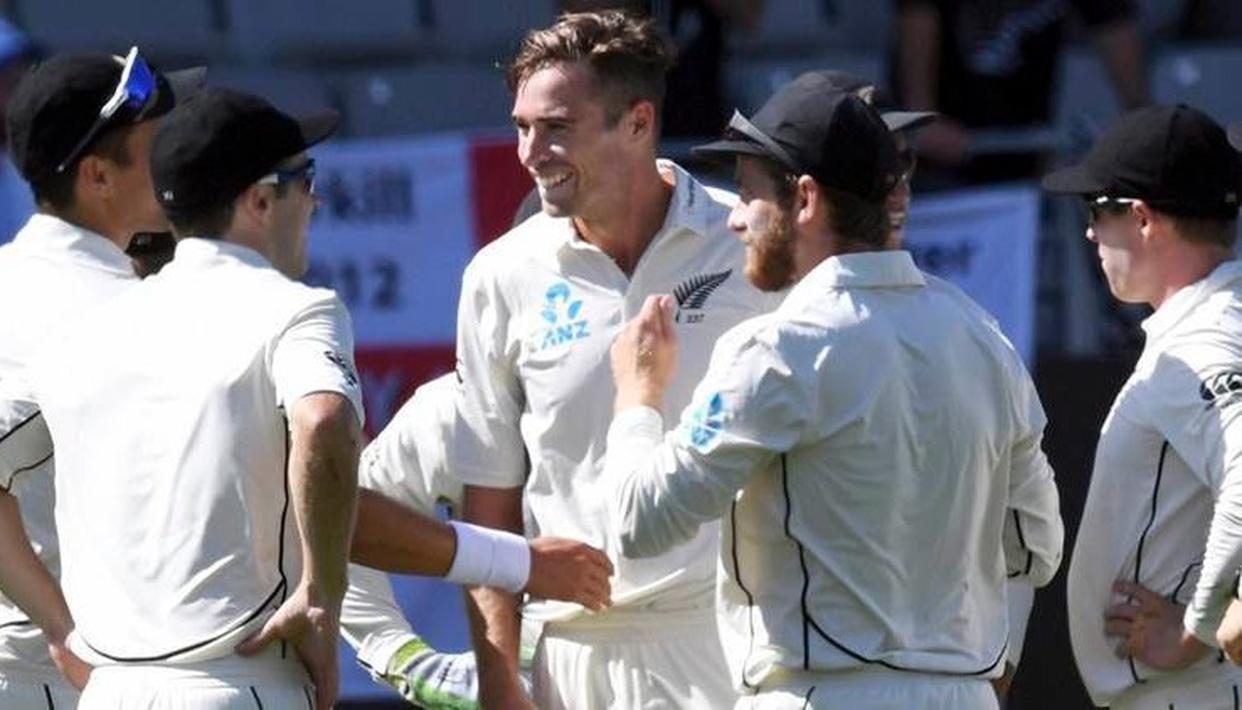 टिम साउदी ने झकझोरा टॉप ऑर्डर, श्रीलंका के नौ विकेट पर 275 रन