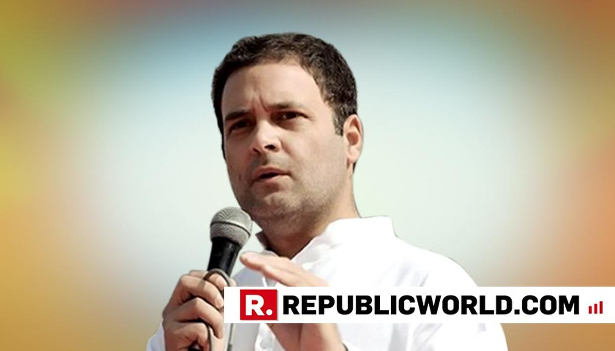 "RAHUL GANDHI'S CLARION CALL: ""ALL VOICES IN INDIA ARE GOING TO GET TOGETHER AND DEFEAT BJP IN LOK SABHA 2019 POLLS"""