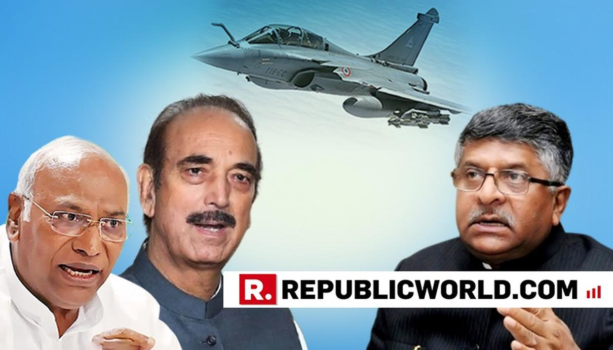 RAFALE ISSUE: CONGRESS GIVES BREACH OF PRIVILEGE NOTICES IN BOTH HOUSES, DEMANDS ANSWERS FROM  GOVERBMENT