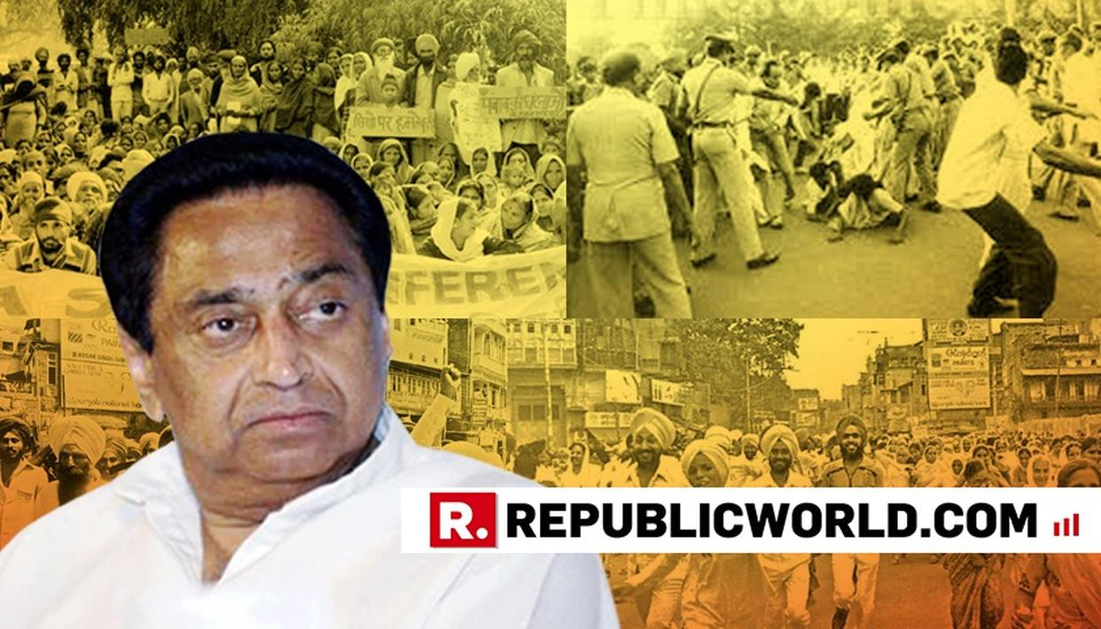 """HAS THE EYE-WITNESS TOLD YOU?"" SAID MADHYA PRADESH CM KAMAL NATH, AFTER BEING QUESTIONED OVER 1984 ANTI-SIKH RIOTS"