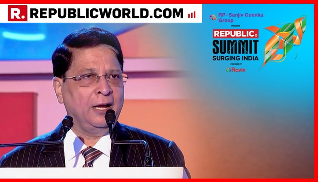 YOU CANNOT IGNORE THE LADIES: FORMER CHIEF JUSTICE OF INDIA DIPAK MISRA TALKS ABOUT GENDER JUSTICE AT REPUBLIC SUMMIT 2018