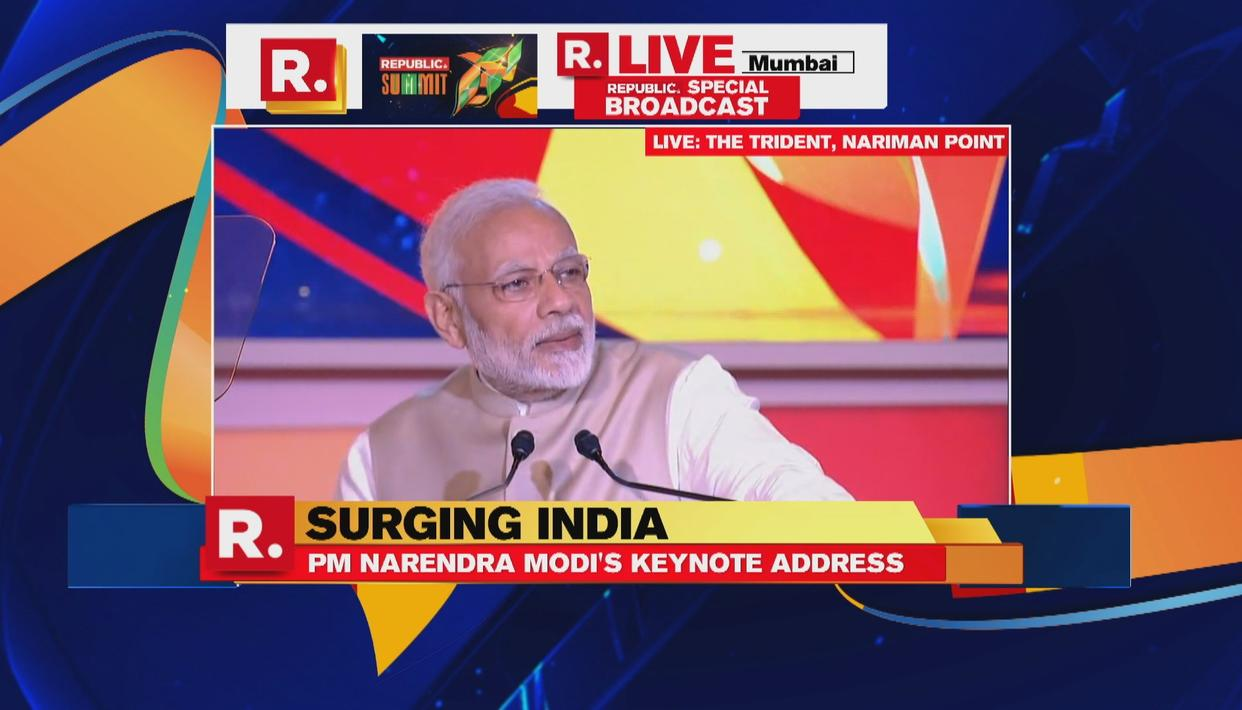 """FOUR YEARS BACK NO ONE EVEN THOUGHT THAT THE CONGRESS LEADERS WILL BE CONVICTED FOR 1984 SIKH MASSACRE,"" PM MODI AT REPUBLIC SUMMIT"