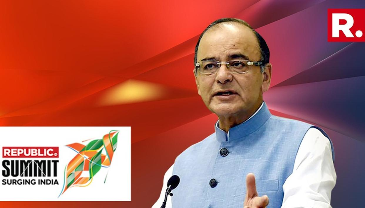 ARUN JAITLEY SPEAKS AT REPUBLIC SUMMIT 2018