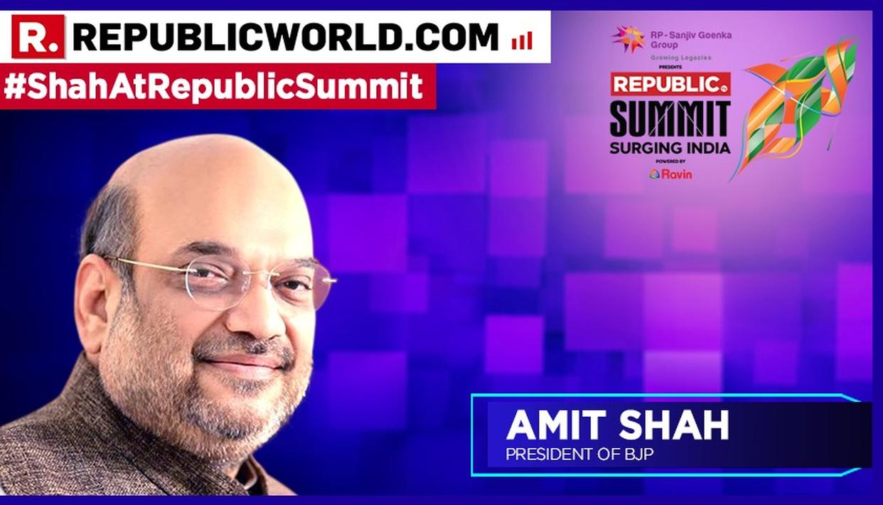 WATCH | 'I BELIEVE RELIGIOUS MATTERS CAN'T BE PUT TO JUDICIAL REVIEW': AMIT SHAH ON BJP STAND ON SABARIMALA ISSUE, AT REPUBLIC SUMMIT