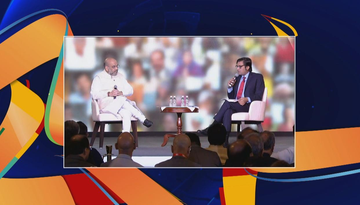 'BOTH BJP AND NDA WILL RETURN WITH FULL MAJORITY': AMIT SHAH AT REPUBLIC SUMMIT 2018