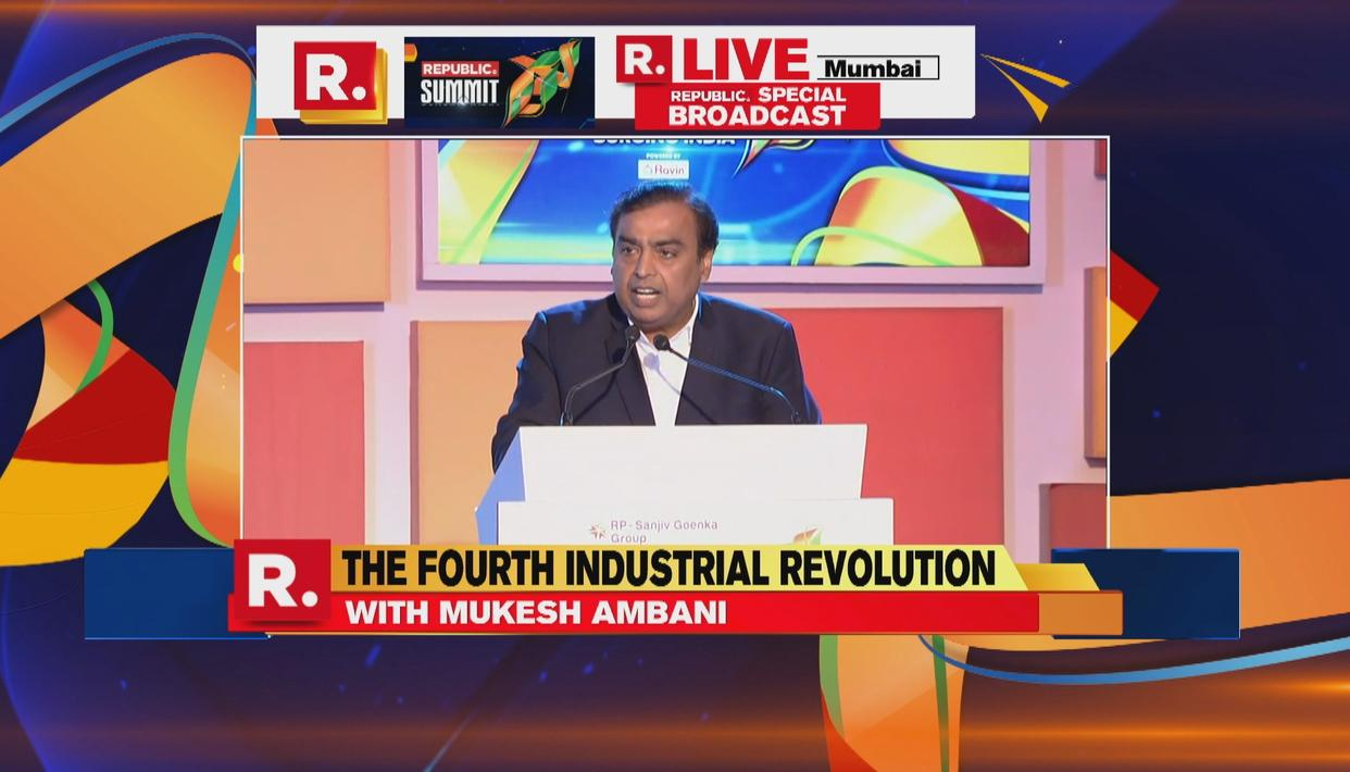 REPUBLIC SUMMIT 2018 | MUKESH AMBANI SPEAKS ON IMPORTANCE OF DIGITAL TECHNOLOGY FOR DEMOCRACY