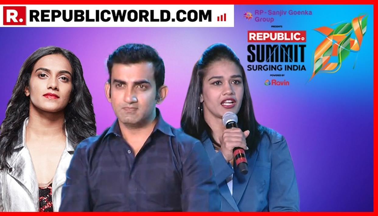 REPUBLIC SUMMIT 2018 | GAMBHIR, SINDHU AND PHOGAT DISCUSS ABOUT SPORTS
