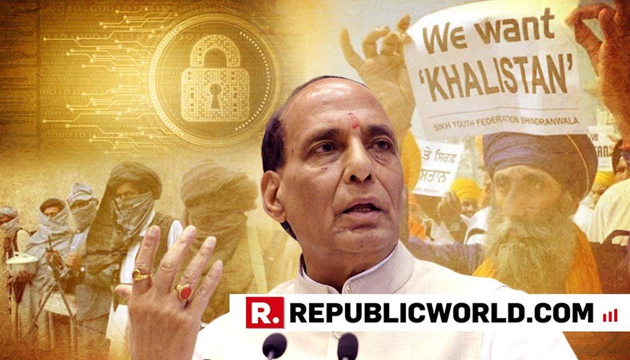 FROM PAK TO KHALISTAN, NAXALISM AND CYBERTERROR, HOME MINISTER RAJNATH SINGH TALKS ABOUT NATIONAL SECURITY AND MORE
