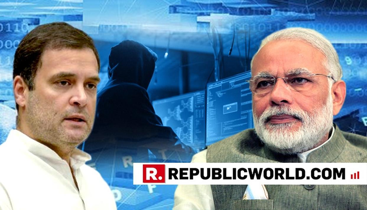 RAHUL GANDHI WADES INTO SNOOPING CONTROVERSY, SAYS 'CONVERTING INDIA INTO A POLICE STATE ISN'T GOING TO SOLVE YOUR PROBLEMS, MODI JI'. READ HERE