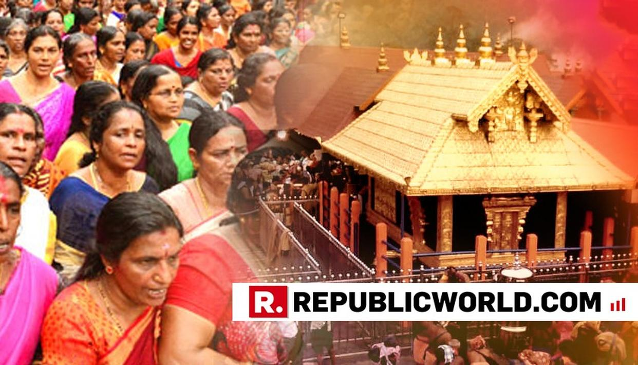 11 WOMEN TRY TO TREK SABARIMALA, TENSION PREVAILS IN PAMBA