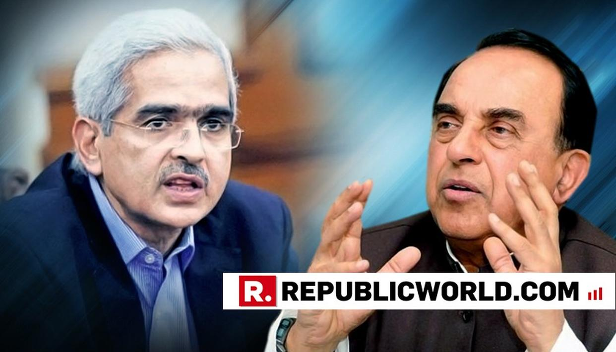 DR SWAMY'S PICK FOR RBI GUV