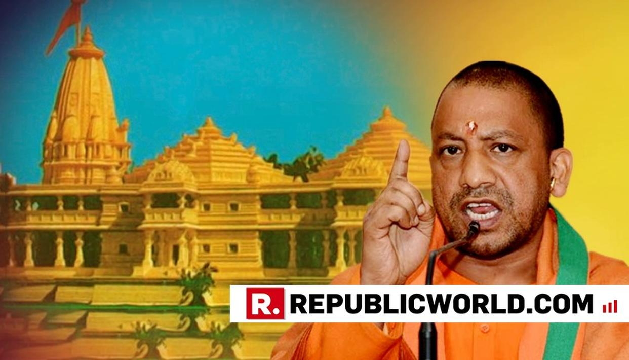 'SOME PEOPLE SAY THEY'LL VOTE FOR WHOEVER BUILDS THE RAM MANDIR. ONLY BJP CAN', SAYS UP CM YOGI ADITYANATH