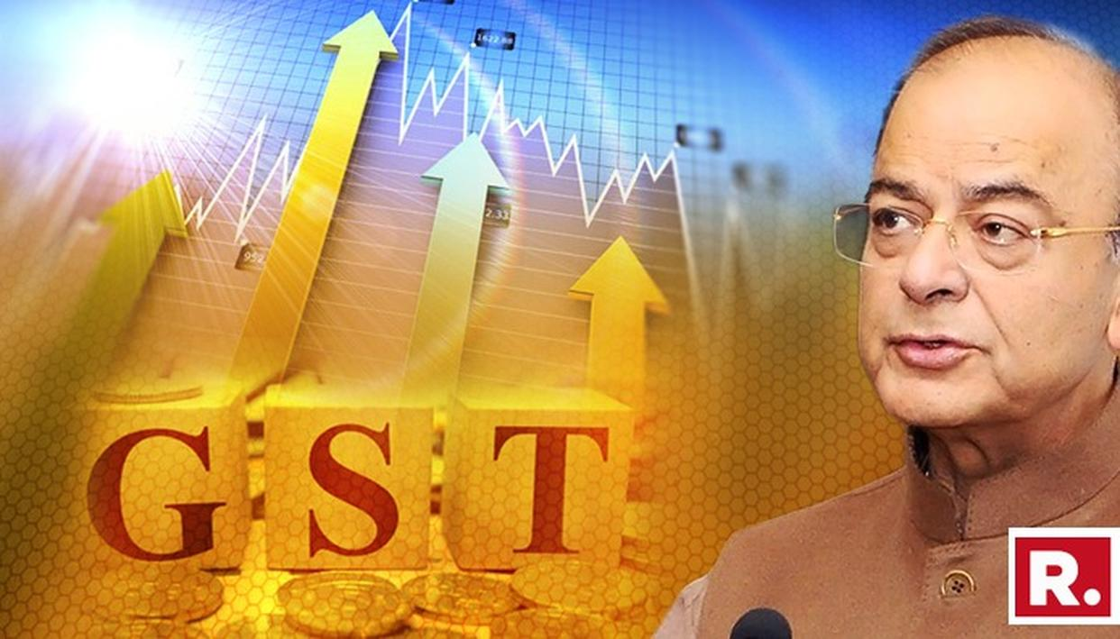GST COULD HAVE SINGLE RATE BETWEEN 12% & 18% IN FUTURE: JAITLEY
