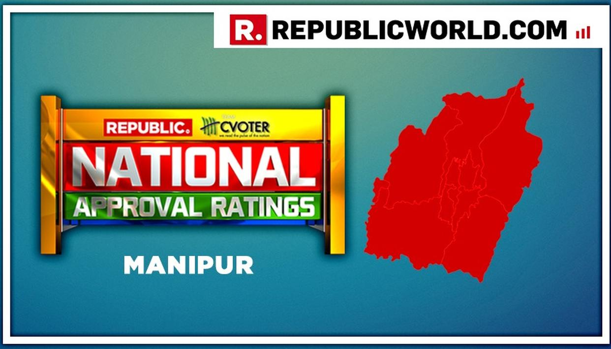 NATIONAL APPROVAL RATINGS: IN MANIPUR, BJP PROJECTED TO WIN BOTH SEATS