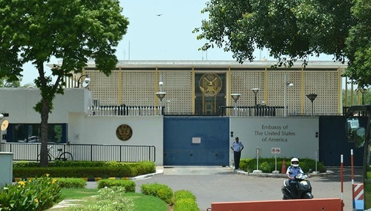 THE US EMBASSY GETS GREEN NOD FOR RS 200 CRORE RENOVATION PROJECT