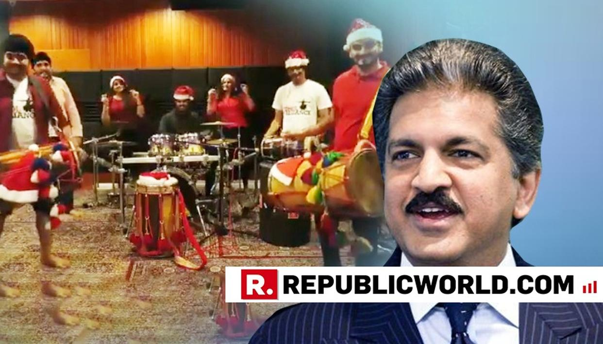 ANAND MAHINDRA'S DESI CHRISTMAS WISH FOR SOCIAL MEDIA IS TOO BEAUTIFUL TO MISS