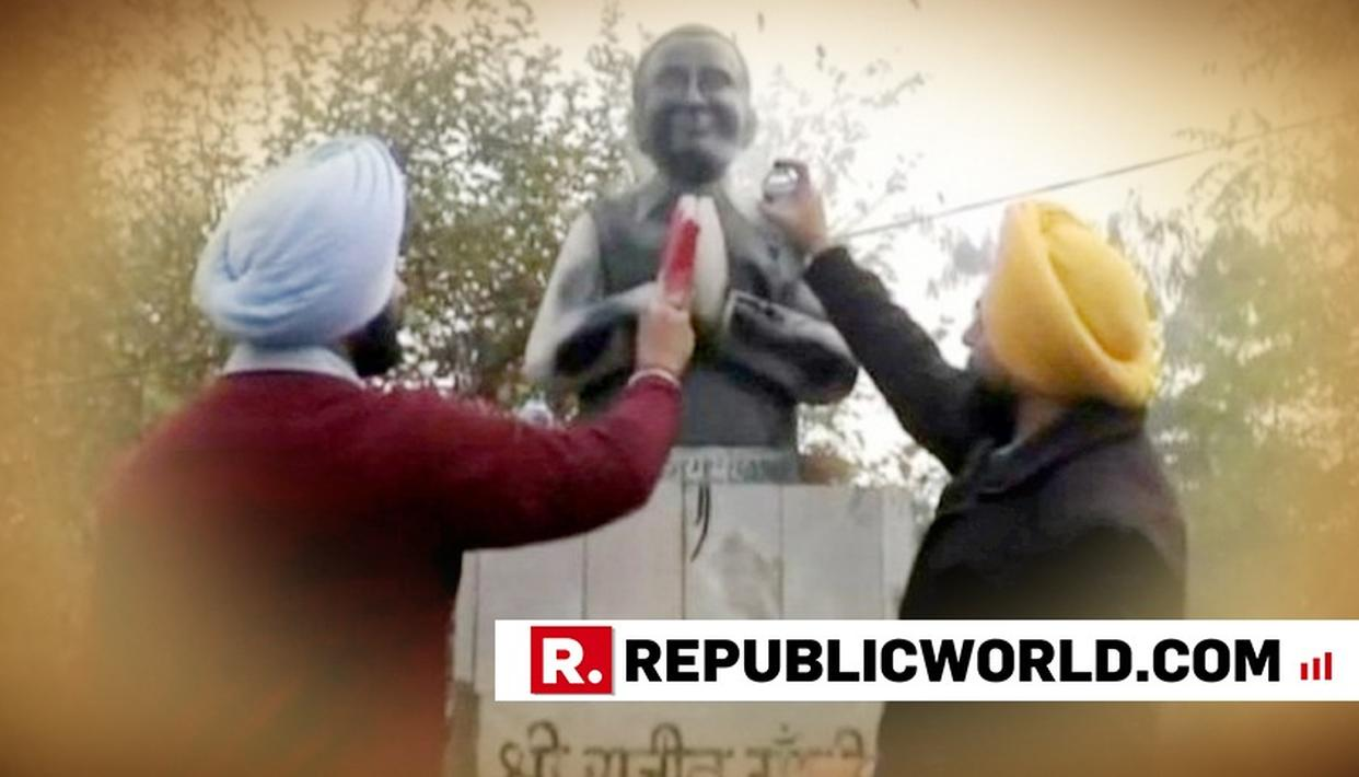 AKALI LEADER ARRESTED IN LUDHIANA RAJIV GANDHI STATUE BLACKENING CASE