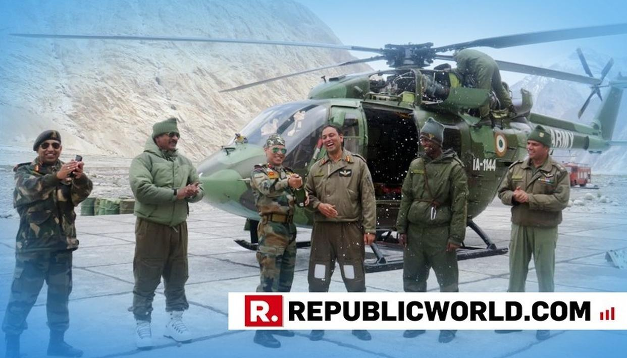 SEE PICTURES: ARMY CREATES RECORD OF SORTS, RECOVERS HELICOPTER STUCK IN SNOW AT 18,000 FT SIACHEN GLACIER