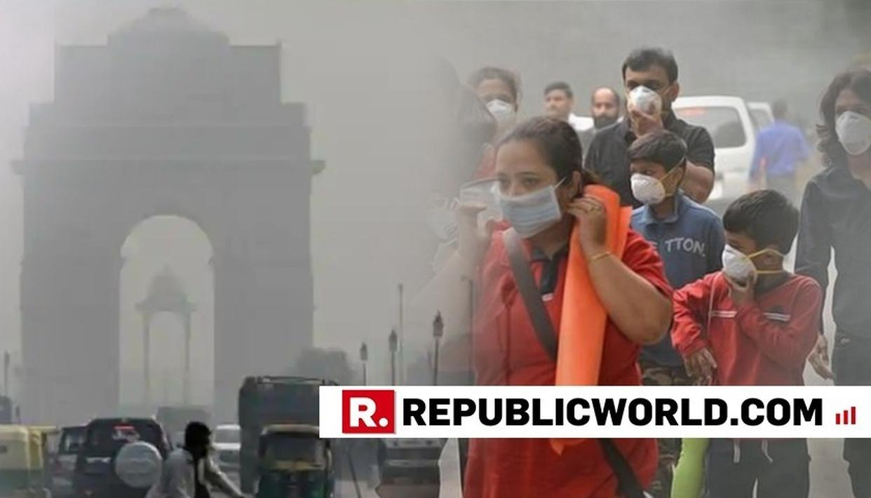 DELHI'S AIR QUALITY 'VERY POOR', MET CONDITIONS SLIGHTLY FAVOURABLE FOR POLLUTANT DISPERSION