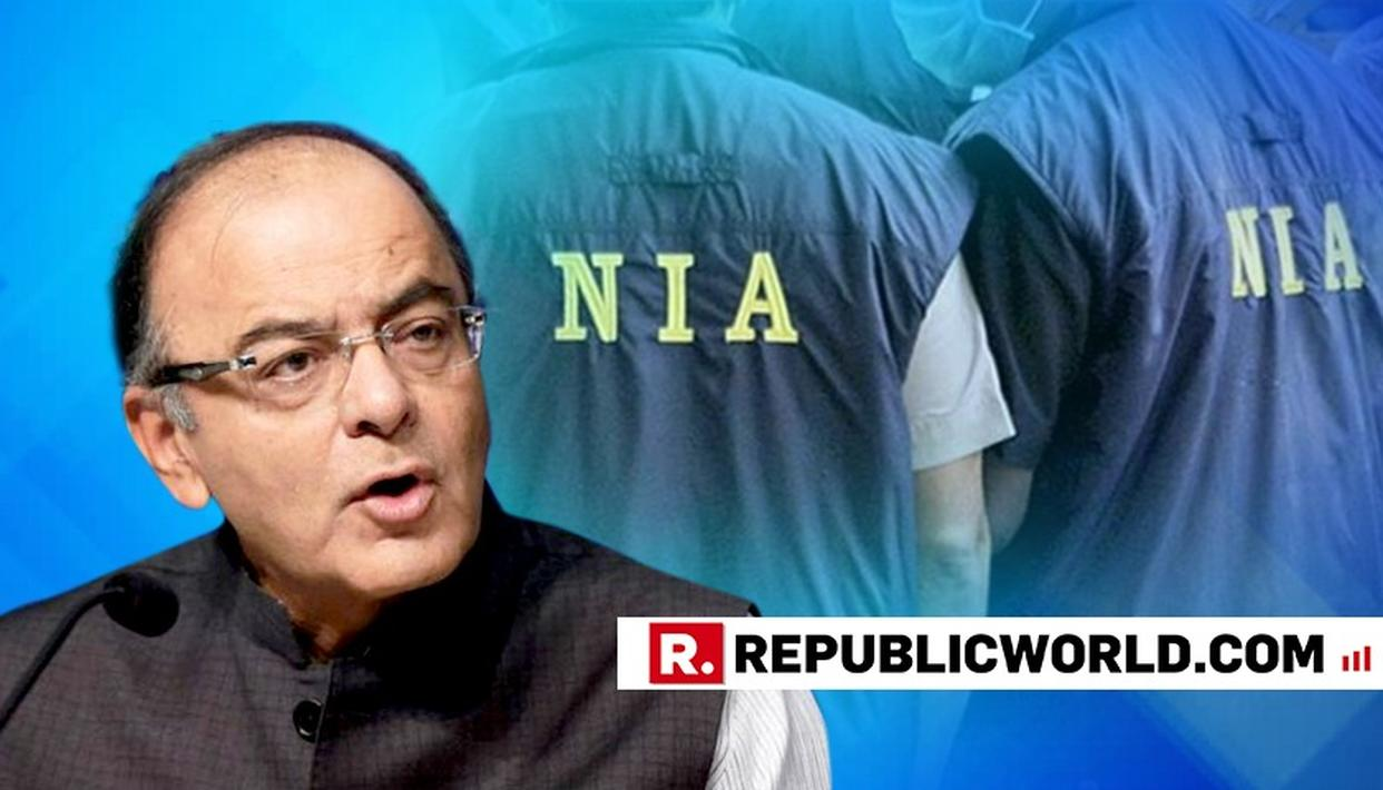 ARUN JAITLEY HAILS NIA ON BUSTING ISIS-INSPIRED TERROR MODULE, ASKS WHETHER IT WOULD HAVE BEEN POSSIBLE WITHOUT INTERCEPTION OF ELECTRONIC COMM