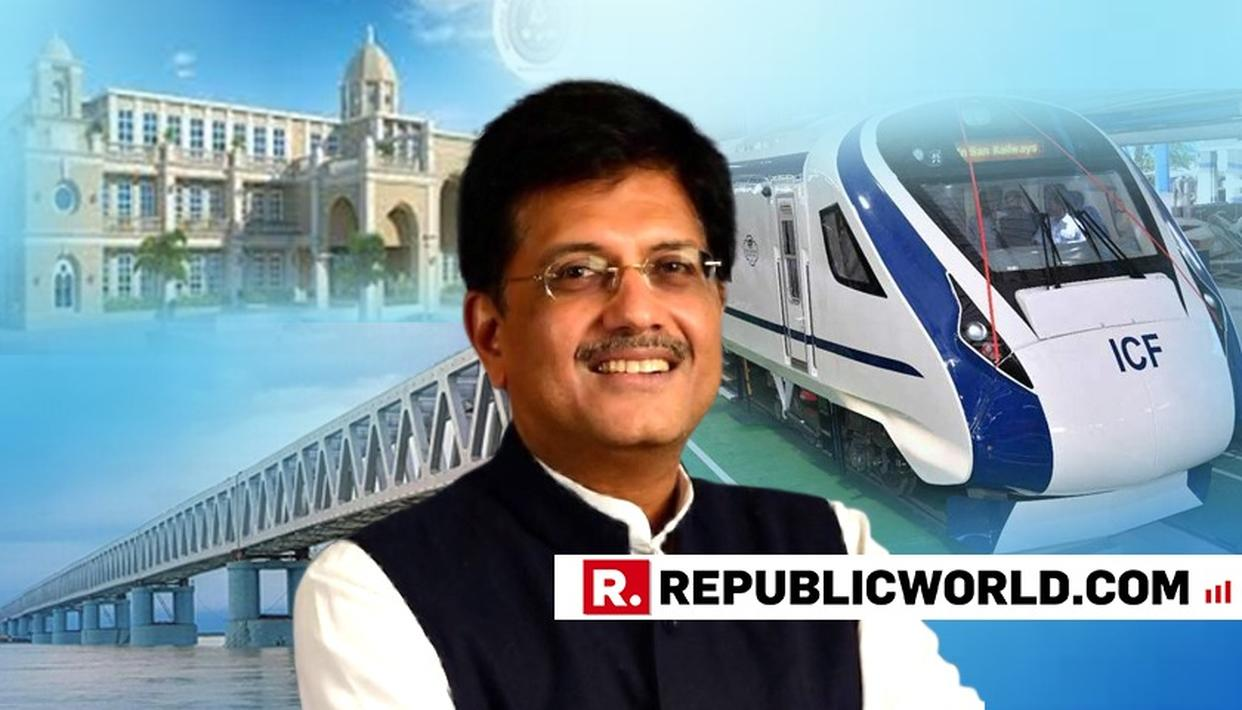 2018 A YEAR OF MANY ''FIRSTS'' FOR INDIAN RAILWAYS: MINISTER PIYUSH GOYAL