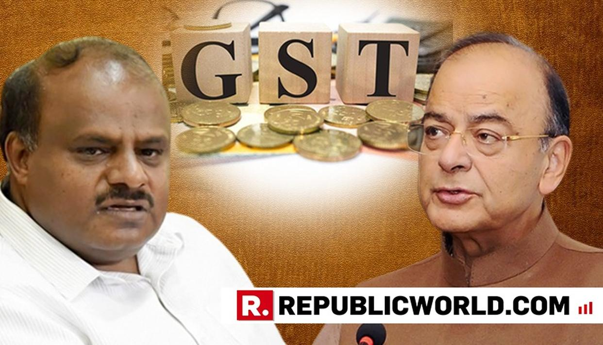 K'TAKA CM MEETS JAITLEY, SEEKS EXTENSION OF GST COMPENSATION PERIOD