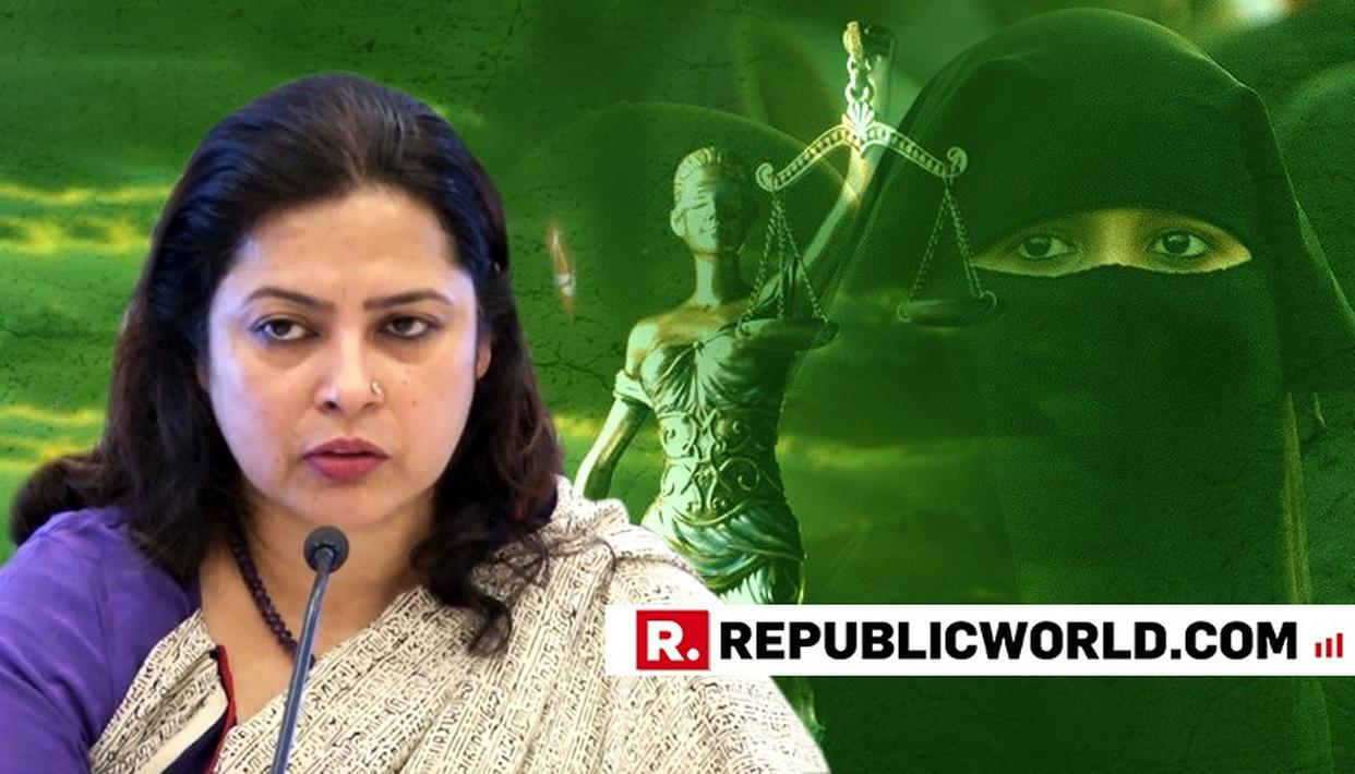 "WATCH: 'GENDER JUSTICE IS NOT HE VERSUS SHE, THESE ISSUES ARE OF HUMAN RIGHTS VIOLATION,"" SAYS BJP MP MEENAKSHI LEKHI UNDERPINNING TRIPLE TALAQ BILL IN LOK SABHA"