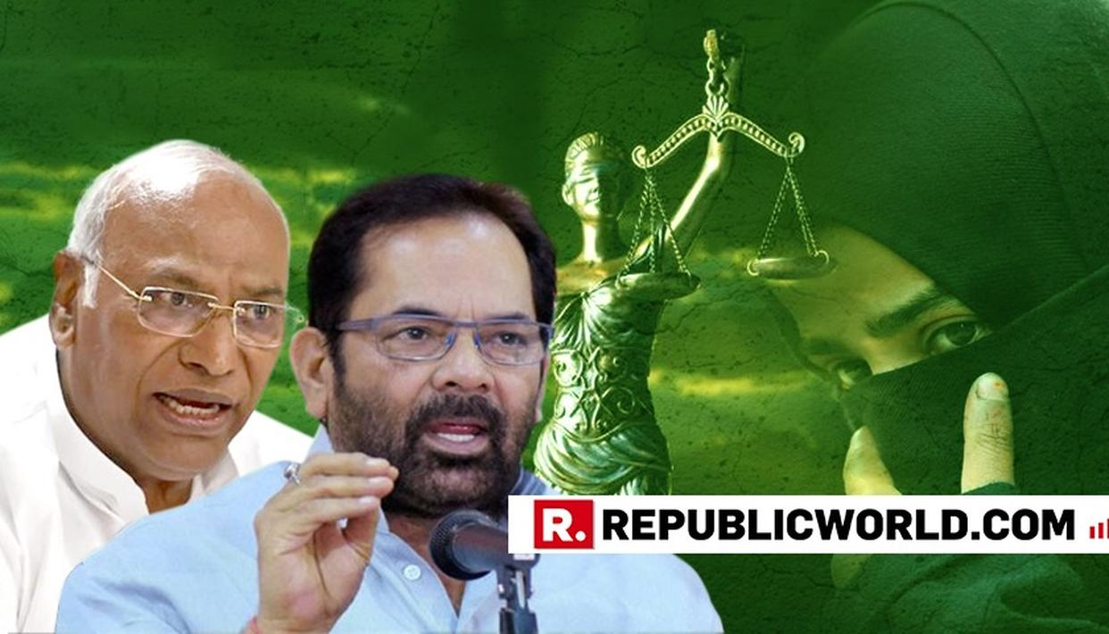 "WATCH: ""WHAT 'SECULAR' HINDU DHARAM DO YOU SPEAK OF THAT NOW HAS TRIPLE TALAQ?"", MUKHTAR ABBAS NAQVI LAUGHINGLY ASKS MALLIKARJUN KHARGE"