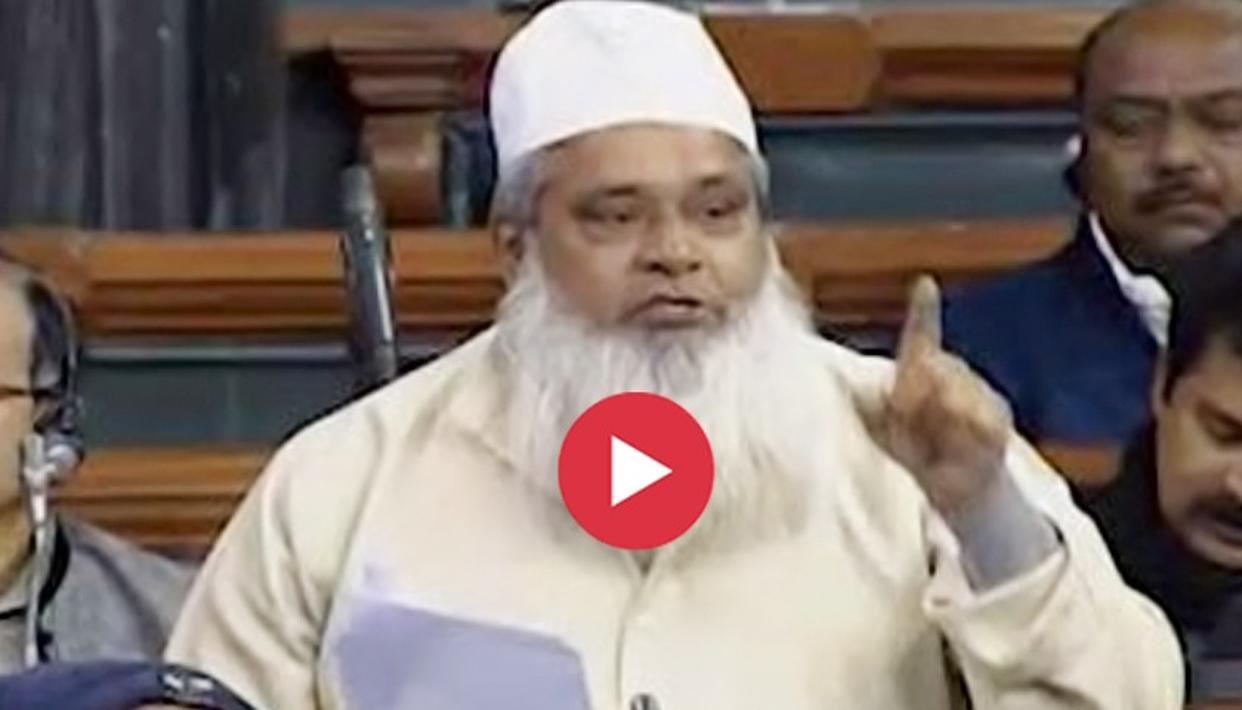 WATCH: 'WILL REFER GOOD BOOKS TO BJP', SAYS AIUDF'S BADRUDDIN AJMAL IN TRIPLE TALAQ DEBATE A DAY AFTER HIS VIRAL EXPLETIVE-LACED ATTEMPT TO ASSAULT A REPORTER