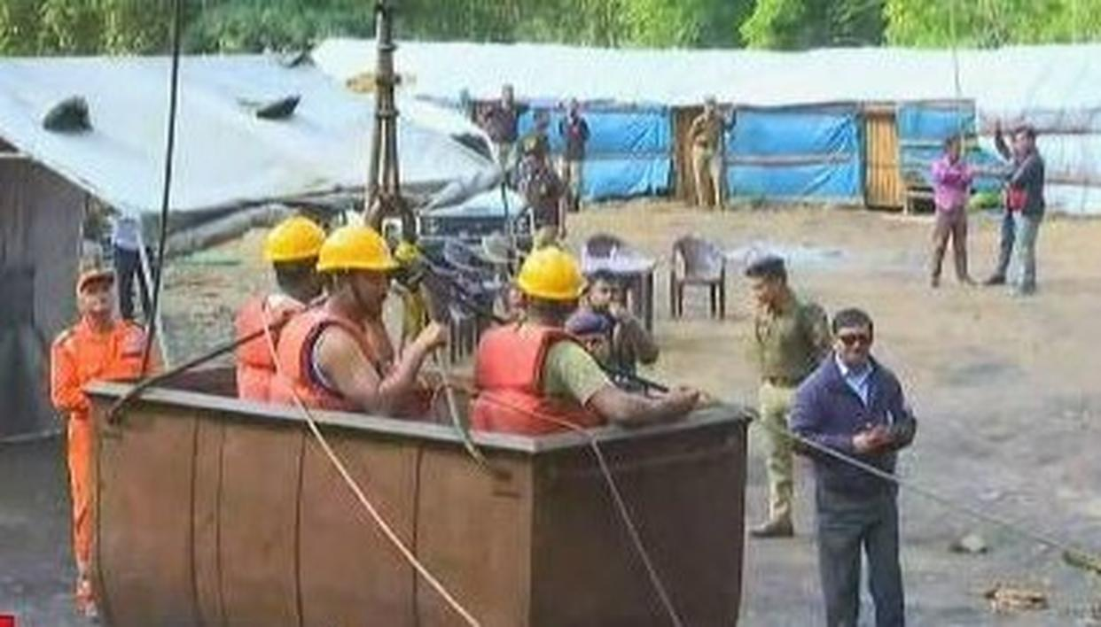 WATCH: LATEST GROUND REPORT ON THE OPERATION TO RESCUE MINERS IN MEGHALAYA