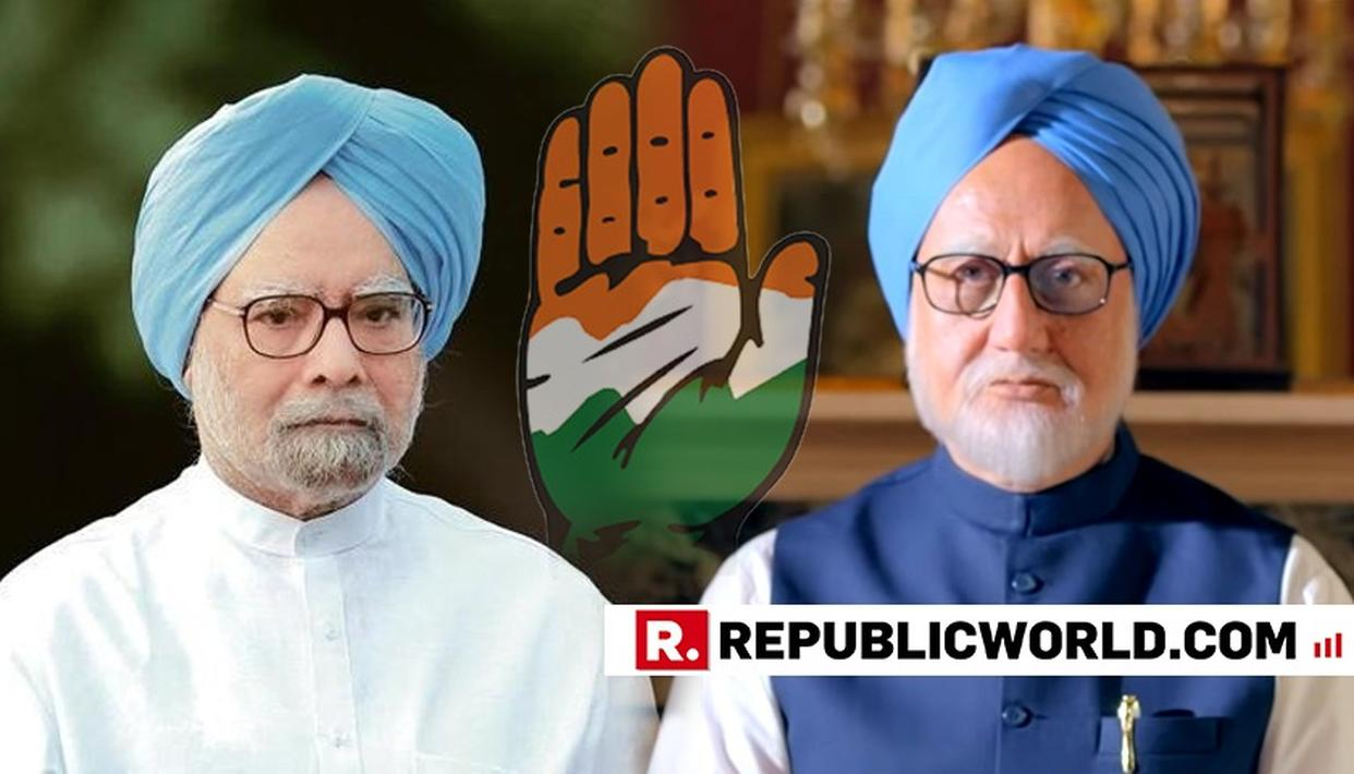 BJP HAILS 'RIVETING' ACCIDENTAL PRIME MINISTER TRAILER, CONGRESS INCANDESCENT WITH RAGE