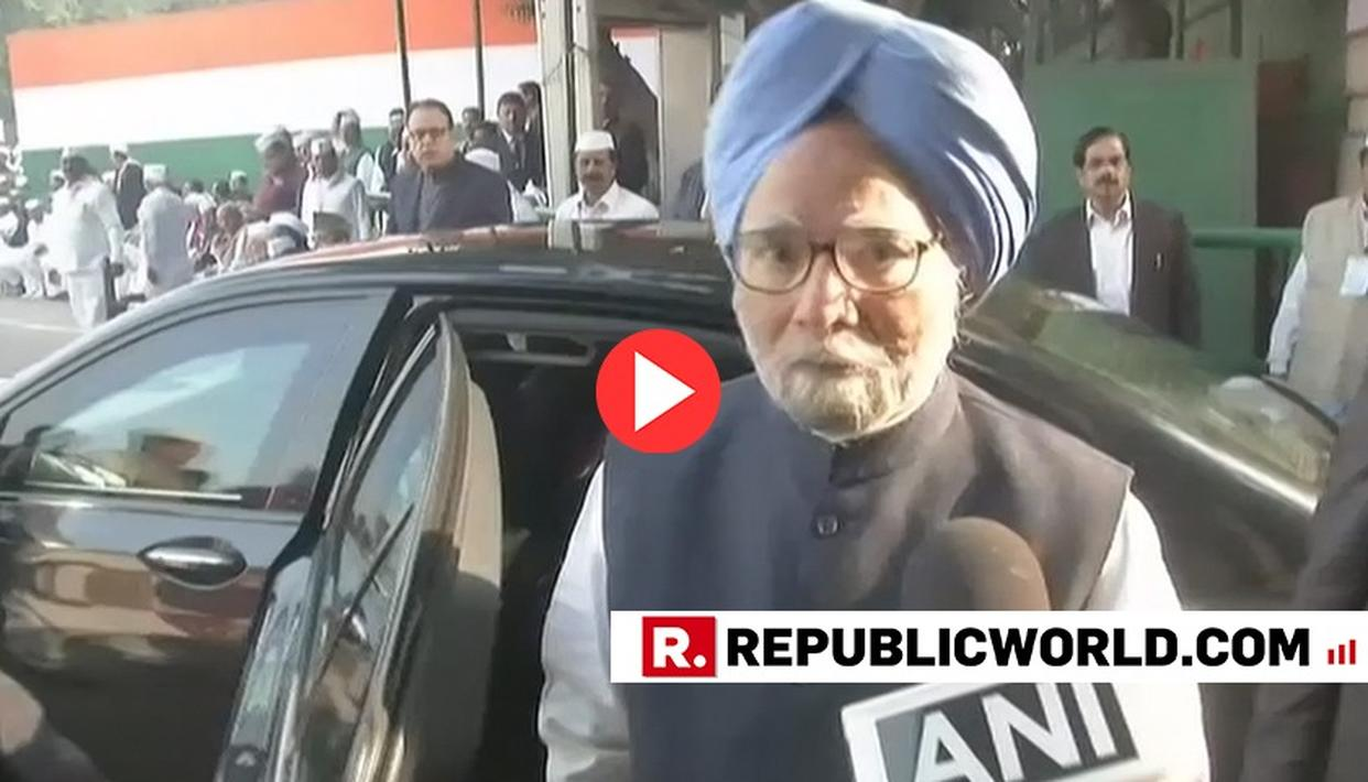 WATCH: FORMER PM MANMOHAN SINGH ASKED ABOUT ACCIDENTAL PRIME MINISTER TRAILER