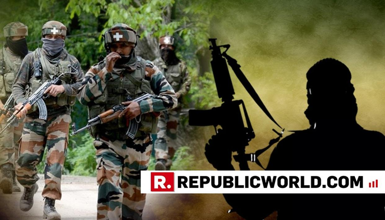 ENCOUNTER UNDERWAY IN PULWAMA DISTRICT OF JAMMU AND KASHMIR