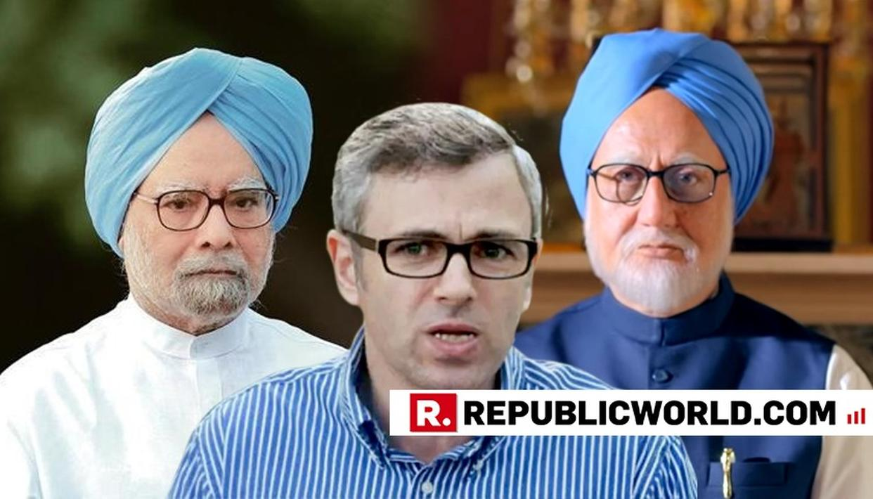 OMAR ABDULLAH WADES INTO THE ACCIDENTAL PRIME MINISTER CONTROVERSY, DISAGREES WITH CONGRESS
