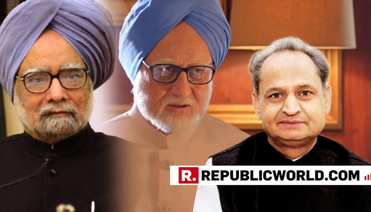 """""""YOU CANNOT DISTORT HISTORY"""" SAYS RAJASTHAN CM ASHOK GEHLOT OBJECTING TO THE TRAILER OF THE ACCIDENTAL PRIME MINISTER"""