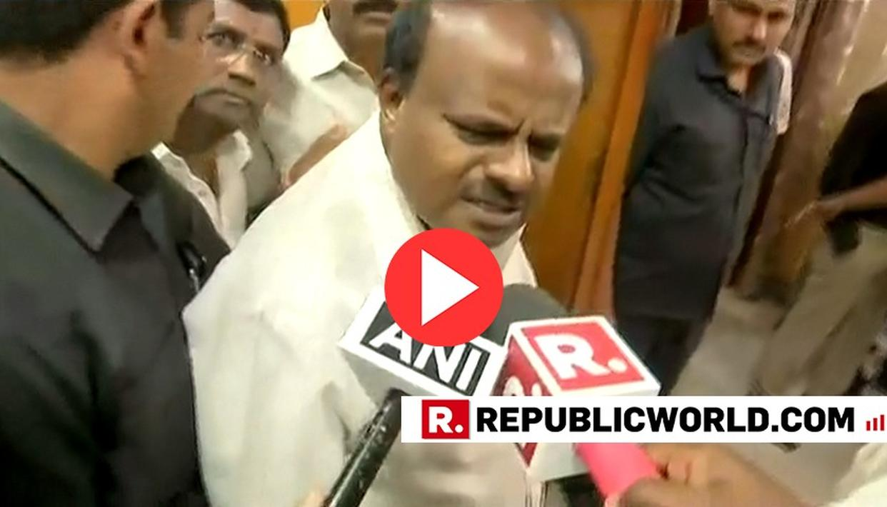 WATCH: HERE'S KARNATAKA CM KUMARASWAMY'S REACTION TO THE CONTROVERSIAL TRAILER OF 'THE ACCIDENTAL PRIME MINISTER'