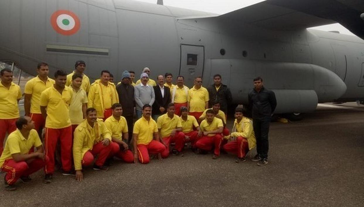 ODISHA FIRE SERVICES TO ASSIST RESCUE OPERATION IN MEGHALAYA MINING TRAGEDY